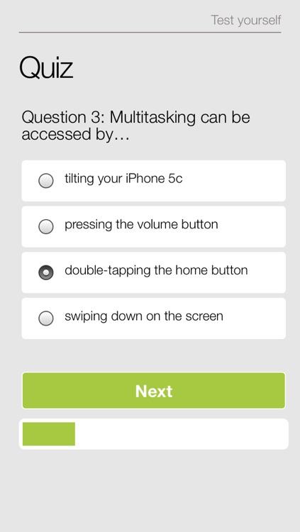 For Beginners: iPhone 5c Edition screenshot-4