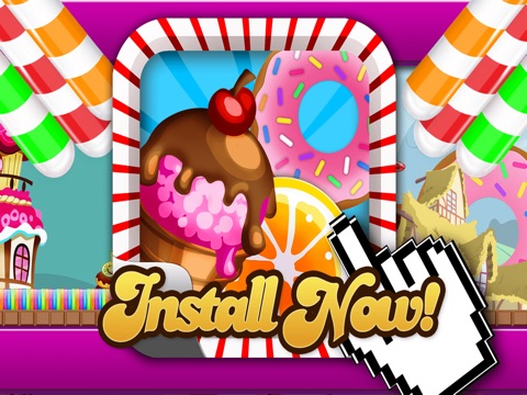 Candy Land Defense - Fun Castle of Fortune Shooting Game FREE-ipad-4