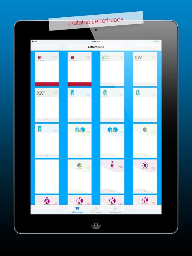 Letterheads hd for adobe indesign editable royalty free templates ipad screenshots spiritdancerdesigns Gallery