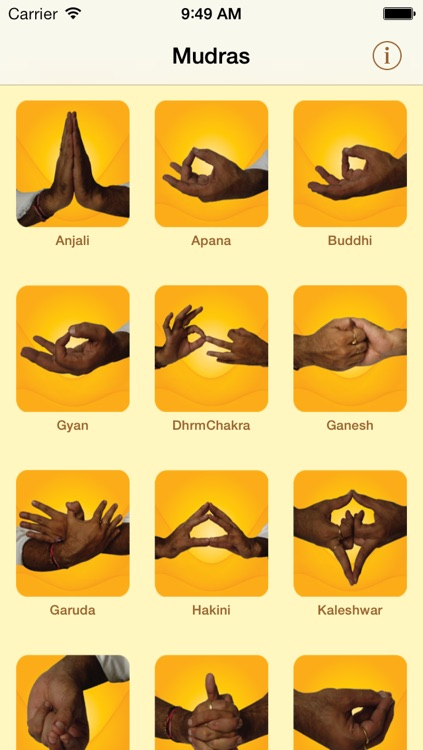 Yoga Mudras screenshot-0