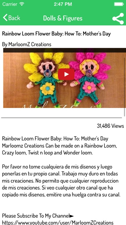 Rainbow Loom - Ultimate Video Guide for Bracelets, Charms, Animals, and many more screenshot-3