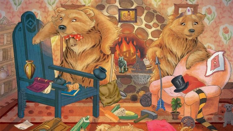 Hidden Object Game Jr FREE - Goldilocks and the Three Bears screenshot-4