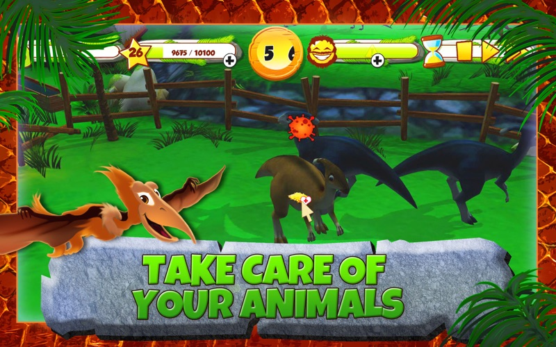 My Jurassic Farm - Raise your own dinosaurs screenshot 3