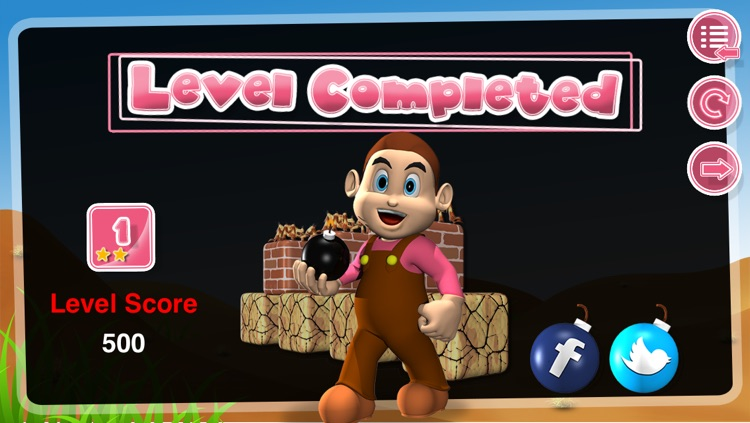 Bombuster Free Game for iPhone screenshot-4