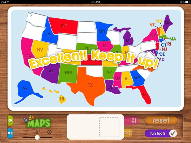 Kids Maps US Map Puzzle on the App Store