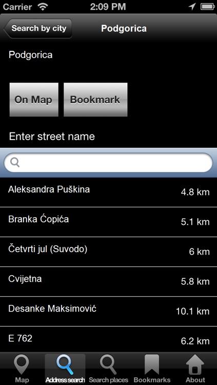 Offline Map Montenegro: City Navigator Maps screenshot-3