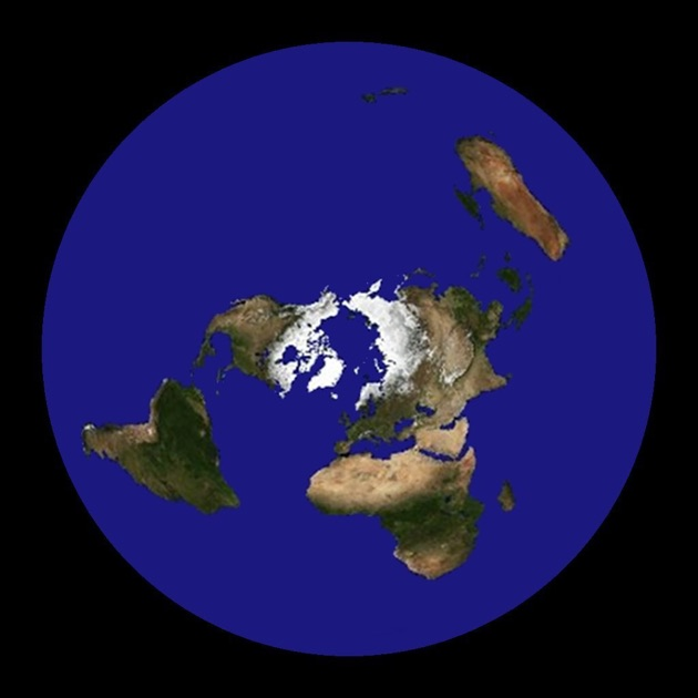 Flat Earth Satellite Image Viewer On The App Store - Earth map satellite