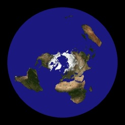 Flat Earth Satellite Image Viewer On The App Store