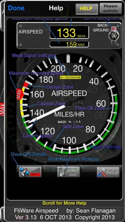 Aircraft Airspeed screenshot-4