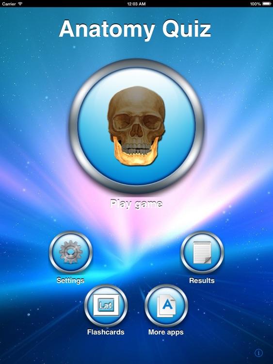 Anatomy Quiz for iPad
