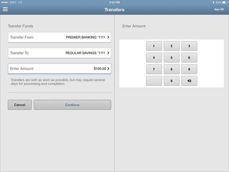 Bremer Bank Mobile for iPad screenshot-3