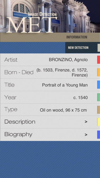 The Metropolitan Museum of Art MET ID Audio Guide screenshot-3
