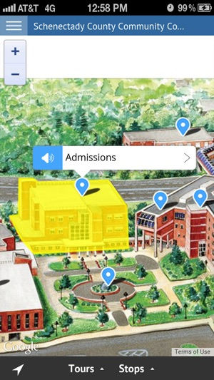 Schenectady County Community College Campus Map.Suny Schenectady On The App Store