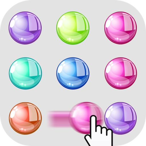 Dots Swap Adventure: Slide, Swipe, & Connect to Match the Orbs Colors iOS App