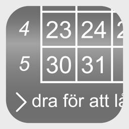 Kalender på låsskärmen