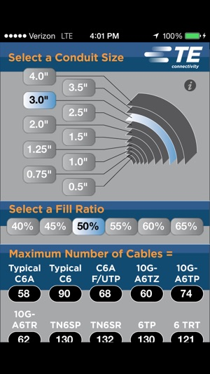 Conduit fill capacity calculator on the app store greentooth Image collections