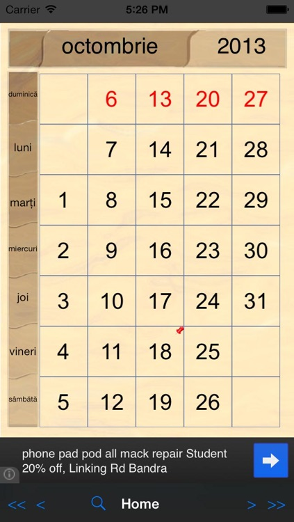 Perpetual-Calendar screenshot-3