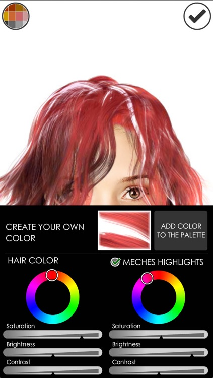 Hairstyle Magic Mirror Change your look screenshot-4