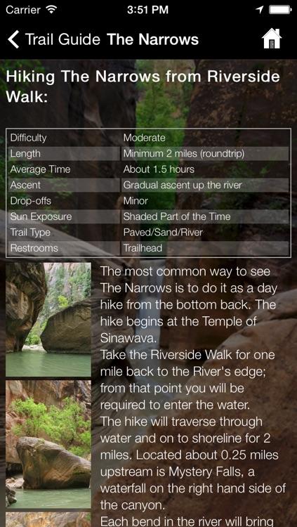 Zion National Park App screenshot-3