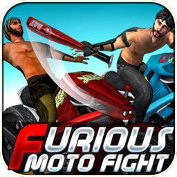Furious Moto Fight - Rash bikers racing & fighting on Road