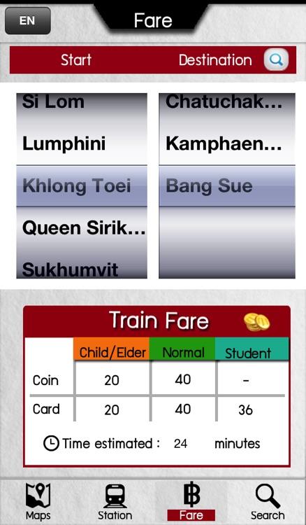 BKK MetroSubway screenshot-3