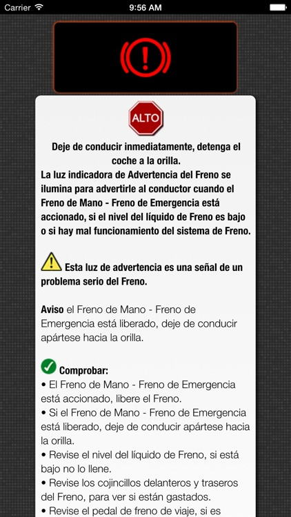 App para Mini Cooper luces de advertencia y problemas de Mini Coopers