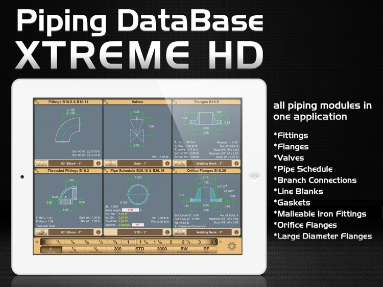 Piping DataBase - XTREME HD