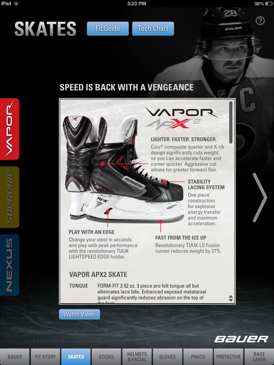 Bauer Gear Guide - English screenshot-2