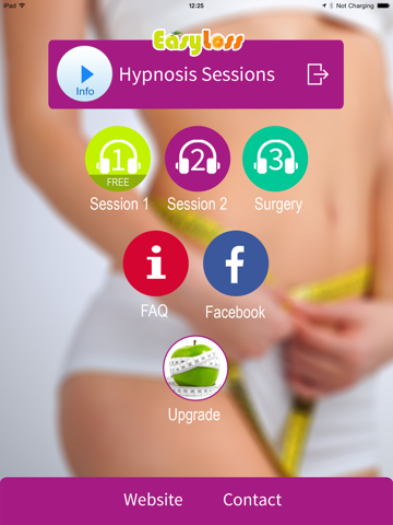 Virtual Gastric Band Hypnosis -Lose Weight Fast! LITE for iPad screenshot two