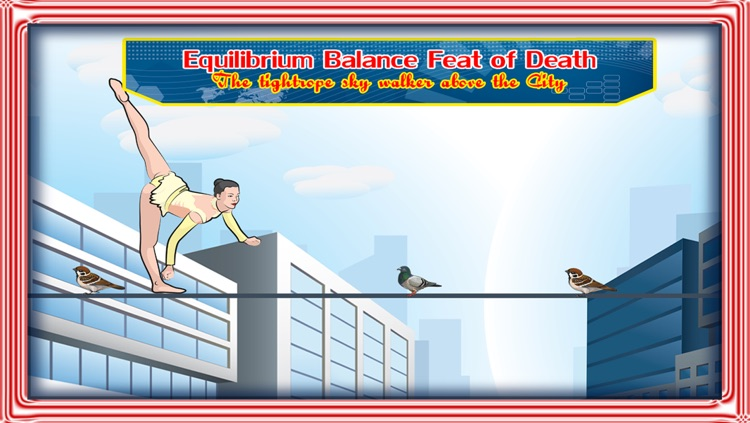 Equilibrium Balance Feat of Death : The tightrope sky walker above the City - Free Edition