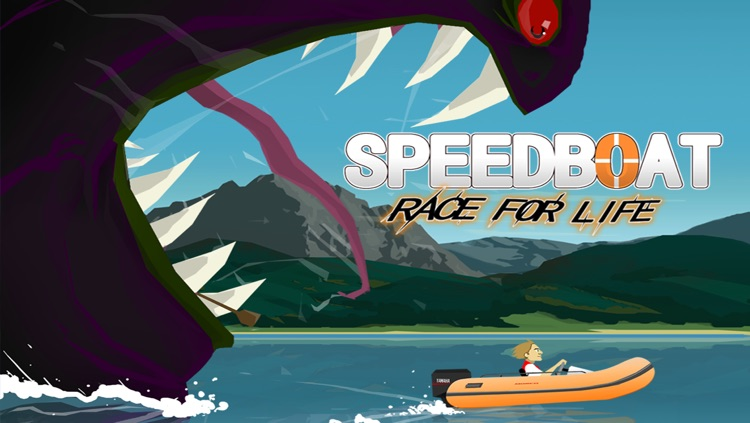 Speed Boat Race for LIFE! – Free Monster Racing Game screenshot-3