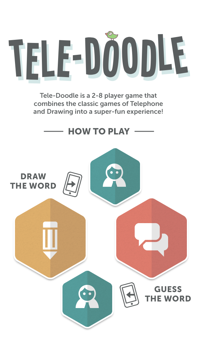 Teledoodle - The Hilarious Heads Up Party Drawing Game wiki review and how to guide