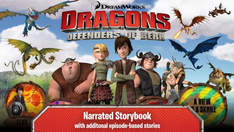 DreamWorks' Dragons: Defenders of Berk Storybook Deluxe - iStoryTime Read Aloud Children's Picture Book