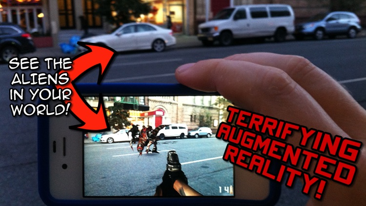 Aliens Everywhere! Augmented Reality Invaders from Space!