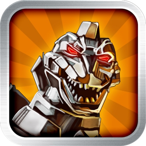 Cyborg Dinosaur: Jumping with Steel Carnivores iOS App