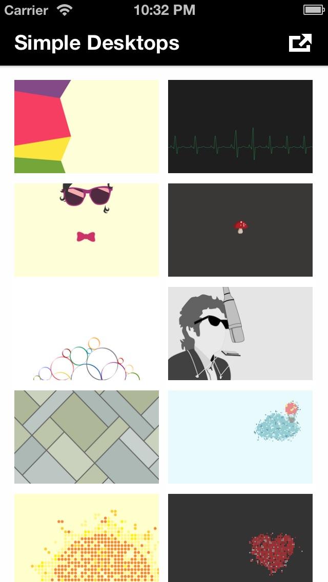 Simple Desktops screenshot1