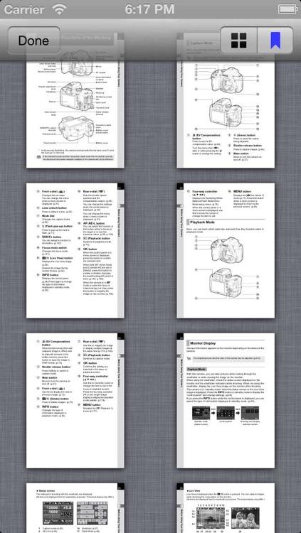 Pentax Camera Handbooks screenshot-3