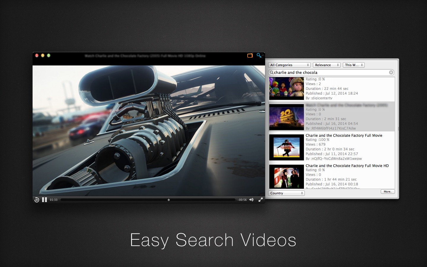 iTube on the MacAppStore