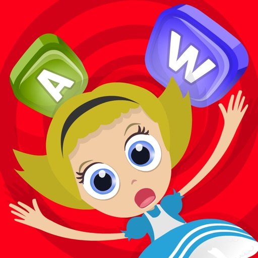 Alice in wordland for kids: The educational word game with color matching