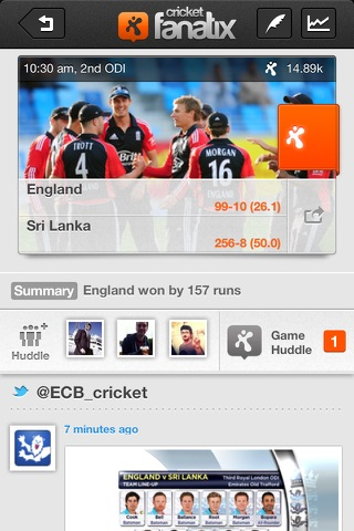 fanatix cricket - Powered by ESPNcricinfo screenshot 3