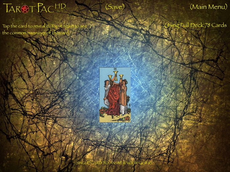 TarotPac Tarot Cards HD screenshot-3