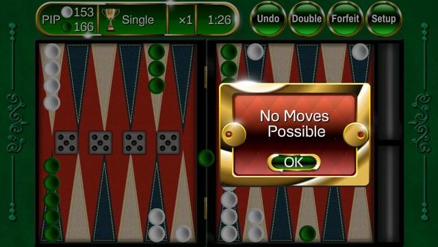 Backgammon Extreme Free - Powerful, Beautiful, Social! Screenshot