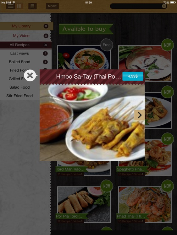 Thai Cooking Recipes screenshot-3