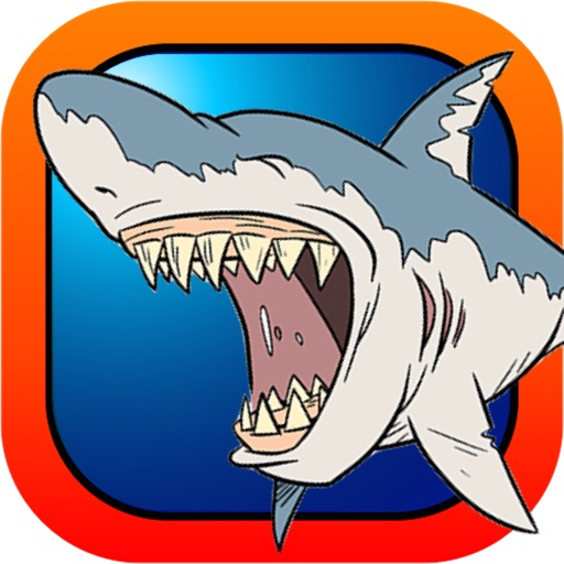 Adorable Diver Under Sea - Dangerous Shark Chase