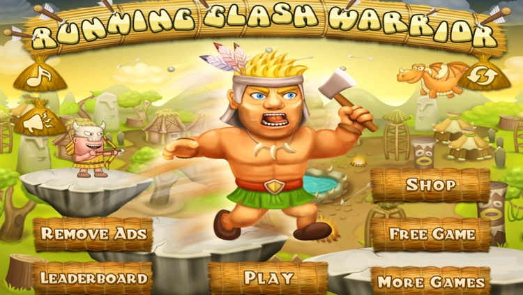 Running Clash Warrior - Escape from Village Archers Free Game screenshot-3