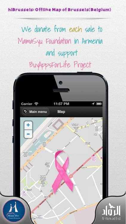 hiBrussels: Offline Map of Brussels(Belgium) screenshot-3