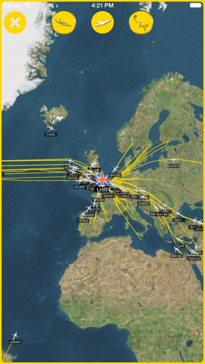 iPlane Radar™ screenshot-2