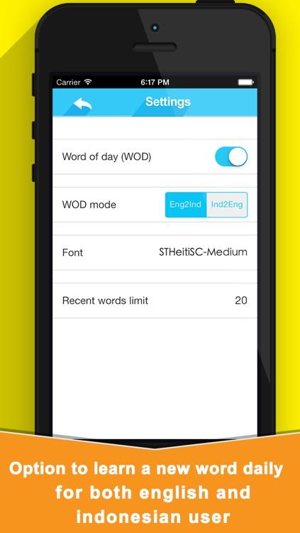 Kamus Inggris Indonesia Edition For iOS 7 screenshot-3