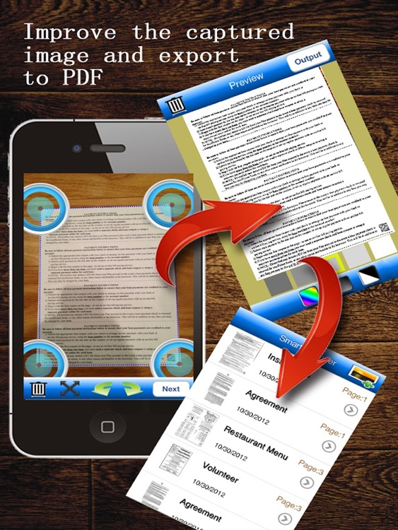 JJScan HD:  scan documents to PDF screenshot-3