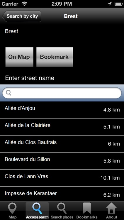 Offline Map Brittany, France: City Navigator Maps screenshot-3